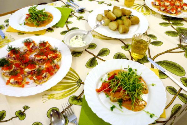 スウェーデン料理教室に参加しました