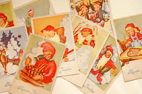 ビンテージクリスマスカードプレゼント!
