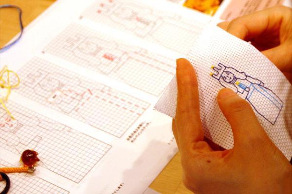 刺繍小箱エスカのワークショップを開催しました