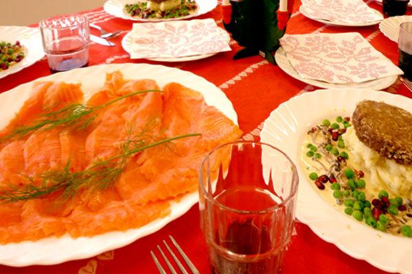 スウェーデン料理教室でクリスマス料理