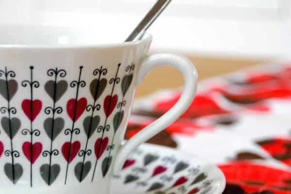 北欧のクリスマス、ハートのカップその1