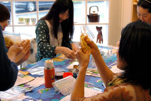 アロマ石鹸作り1日教室ご参加ありがとうございました