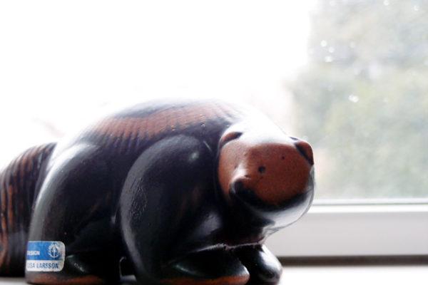 リサ・ラーソンのクズリは実際はこんな動物