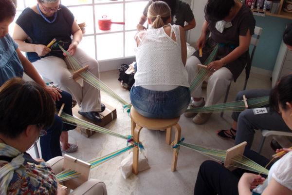 7月10日のピルタナウハ織り教室の報告です