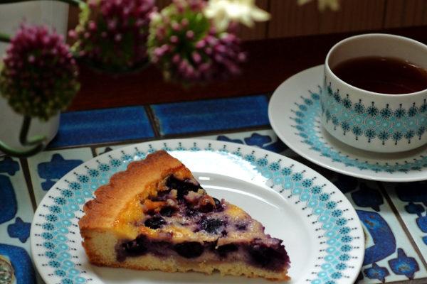 フィンランドのブルーベリーパイのレシピ