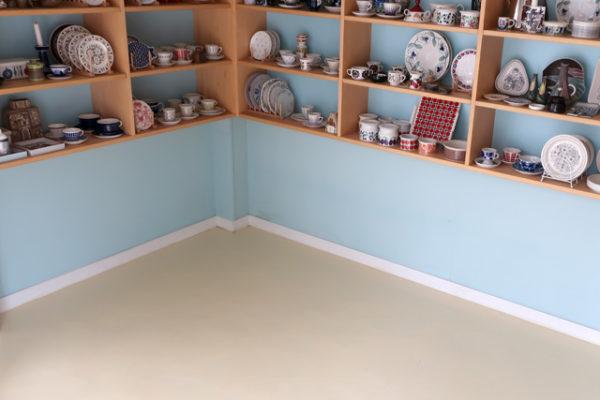 DIYでお店の床塗り替え