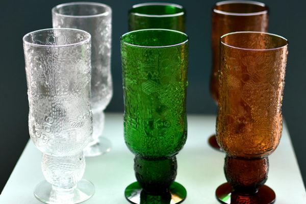 ファウナのビアグラス3色揃いました