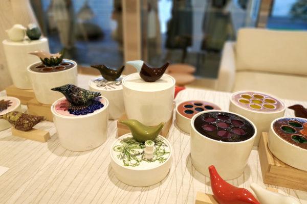 『ヘイニ・リータフフタ陶芸展』レセプションへ