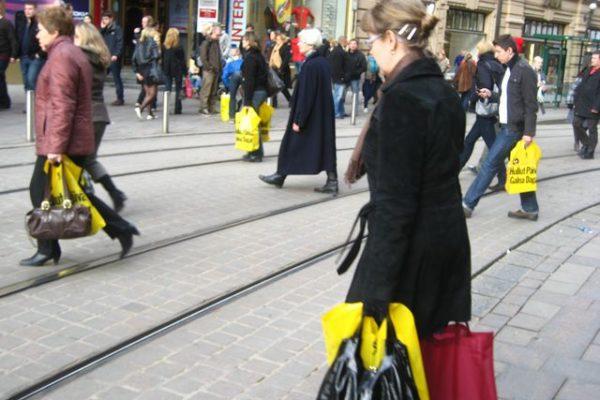 黄色袋軍団現る