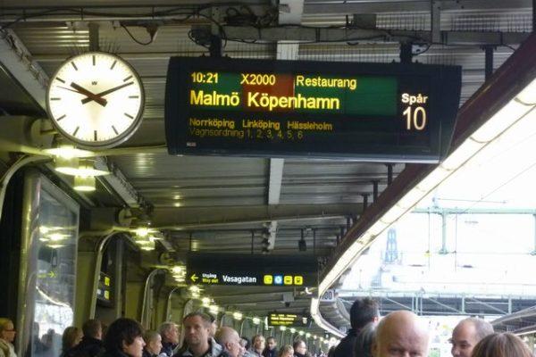 デンマーク上陸