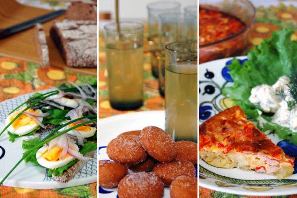 春のフィンランド料理