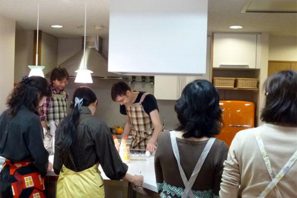 ノルウェー兄弟舟の料理教室