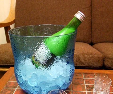 夏に乾杯、オイバトイッカで純米冷酒