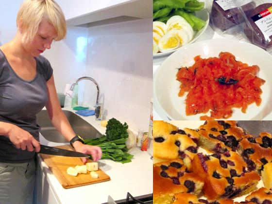 9月のフィンランド料理教室の模様です