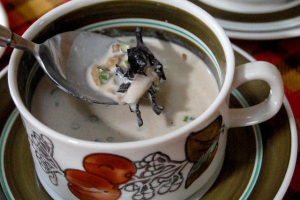 スウェーデン風キノコスープで年越し