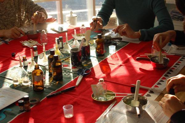 フクヤのワークショップ、シトラス香るアロマバスオイル