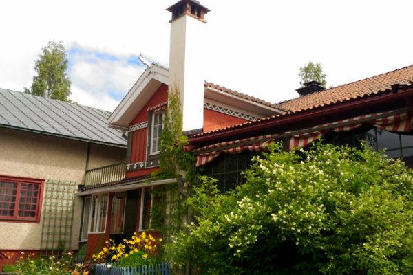 カール・ラーションの家とオルソンさんの家へ