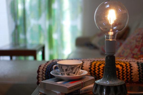 デンマークで流行のランプの使い方を取り入れる