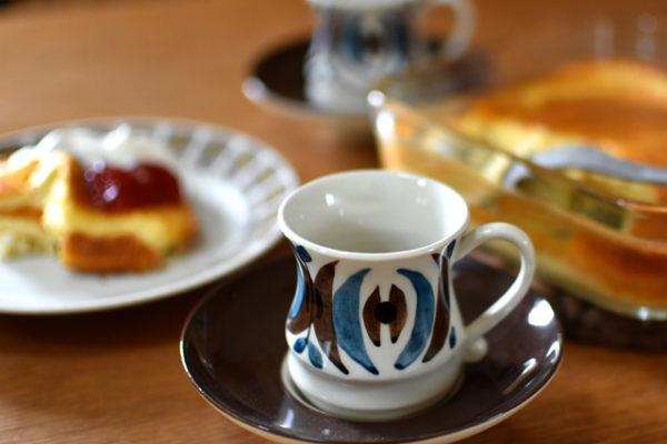 フォルムに個性が光るコーヒーカップ