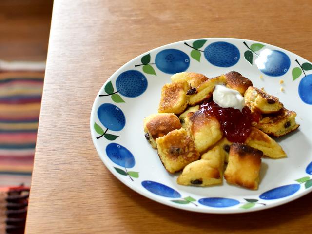 ドイツのフワフワパンケーキ『カイザーシュマーレン』
