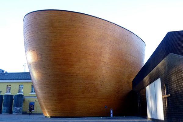 ヘルシンキの木の教会と色々なデザインたち
