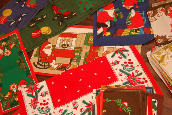 クリスマス布入荷しました!