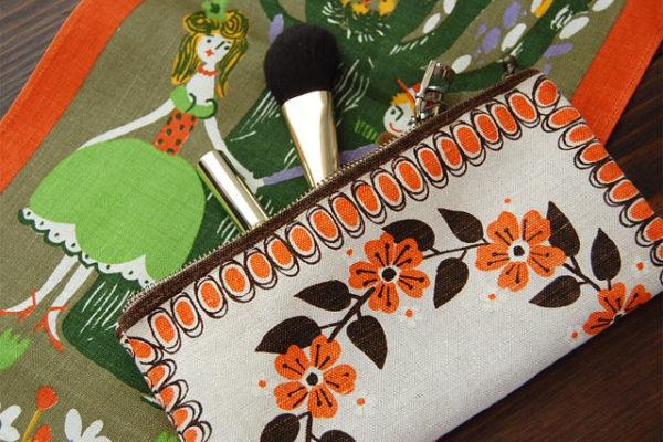手縫いで出来る簡単手作りポーチ