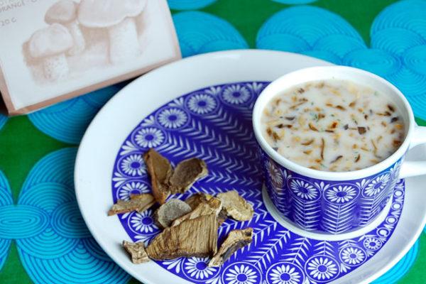 北欧のキノコスープ