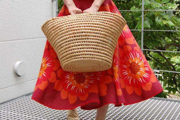 テーブルクロスで作る簡単スカート