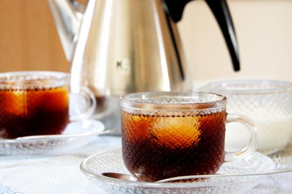 美味しいアイスコーヒーの作り方とガラスフェア