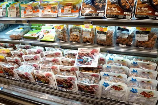 スウェーデンのスーパーマーケット!